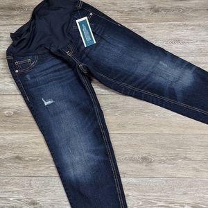 Old Navy Boyfriend Skinny Maternity Jeans sz 2 NWT